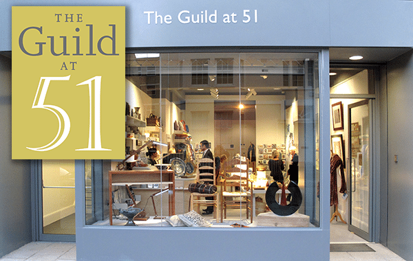 Shop front of The Guild at 51 - Cheltenham