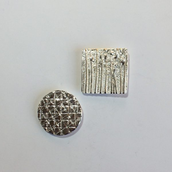 UAP - brooches hammered or fused 10.20