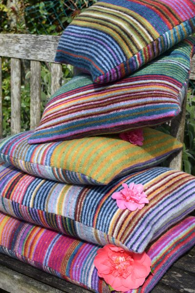 Alison Dupernex Donegal cushions
